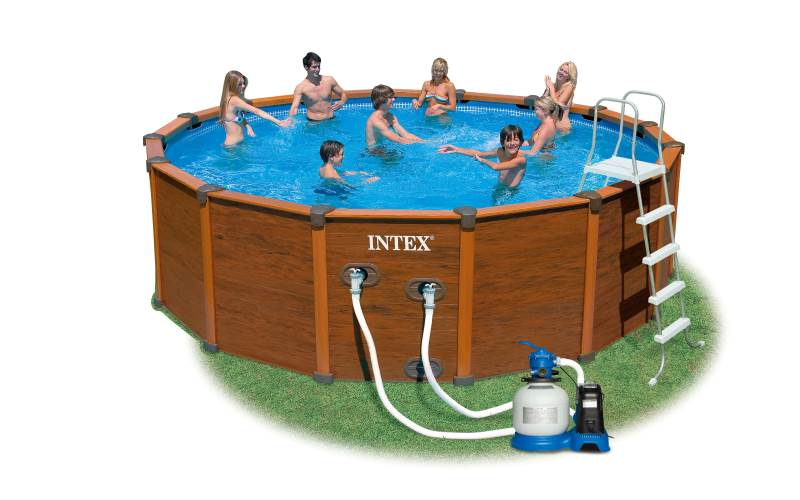 Piscina intex sequoia cm 478x124 prezzi e offerte for Offerte piscine intex