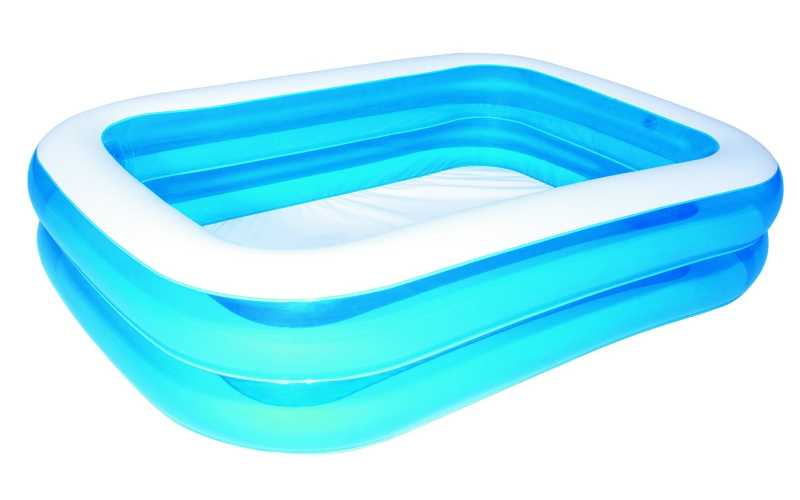 Piscina family rettangolare a 2 anelli intex cod 54005 for Offerte piscine intex