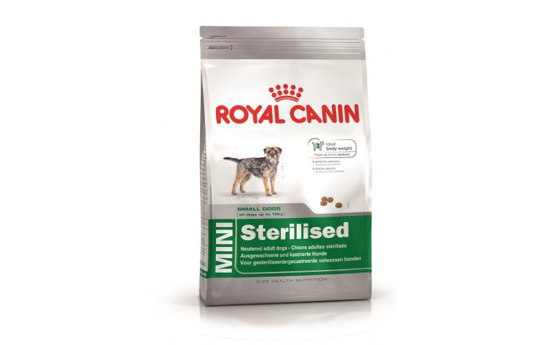 2 kg mini sterilised royal canin prezzi e offerte. Black Bedroom Furniture Sets. Home Design Ideas