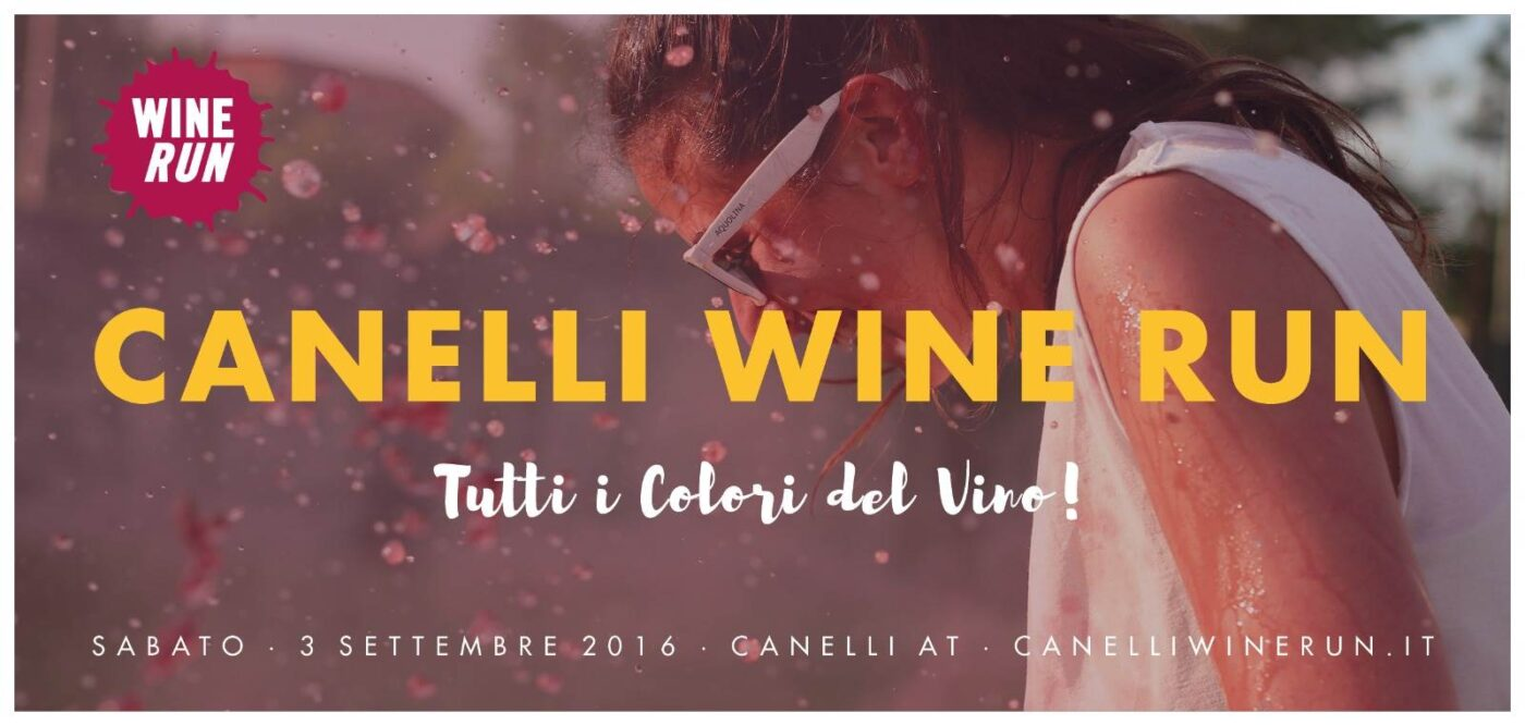 Canelli Wine Run: Brichome uno dei main sponsor