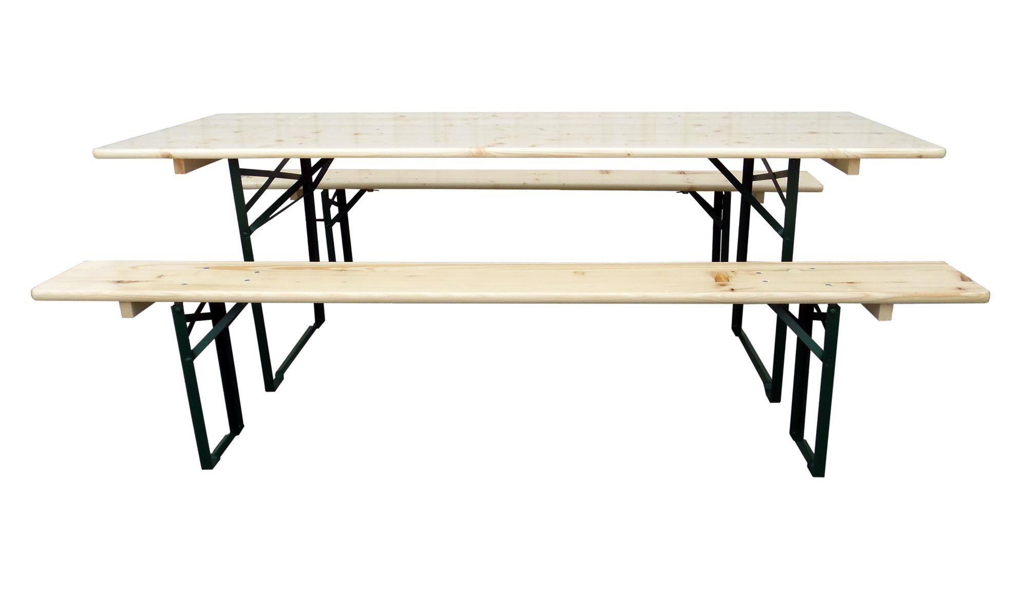 Il set di tavolo e panche DOLOMITI Euroavi professionale per feste e sagre