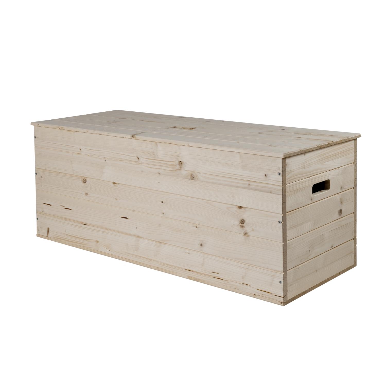 contenitore in legno di pino grezzo levigato 100x40x50h cm. Black Bedroom Furniture Sets. Home Design Ideas