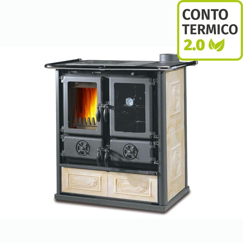 Cucina a legna nordica rosetta liberty pergamena prezzi e offerte brichome - Cucina a legna nordica prezzi ...