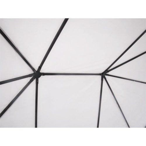 Dettaglio copertura interna Gazebo 3x4 Super in acciaio e pvc