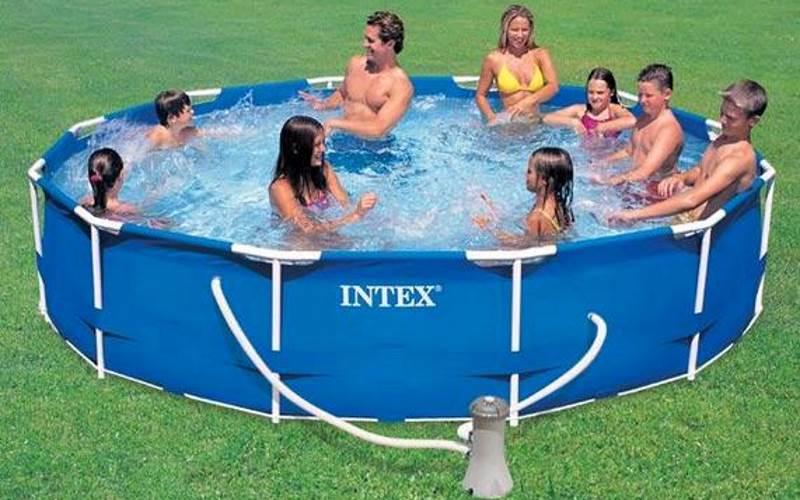 Piscina easy tonda intex d 56932 prezzi e offerte - Offerte piscine intex ...
