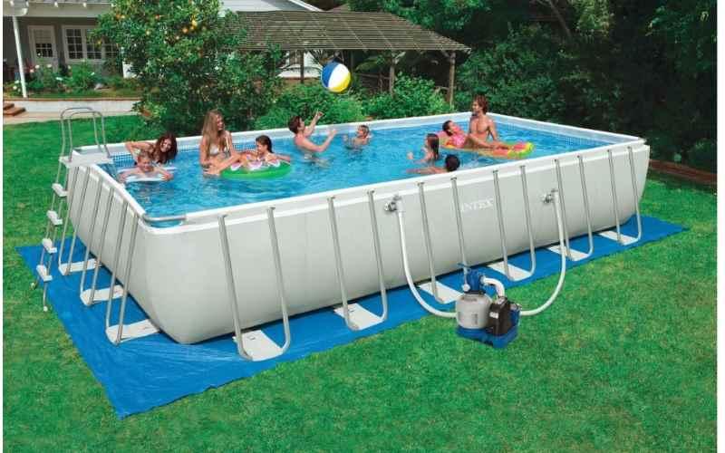 piscina intex rettangolare ultra frame 28352 prezzi e