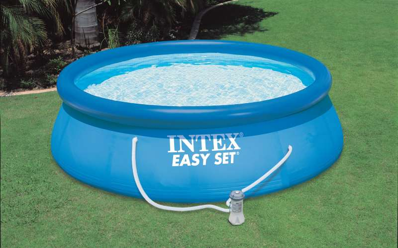 Piscina fuoriterra intex easy d x h 76cm prezzi e offerte - Offerte piscine intex ...