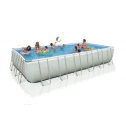 Foto piscina intex 732 x 366 x 122cm con scaletta e pompa filtro
