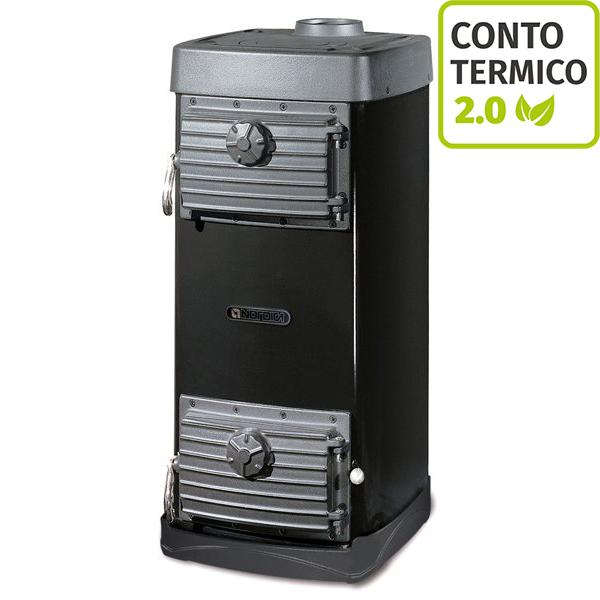 Stufa bruciatutto Nordica Major 6,5 kW-ct