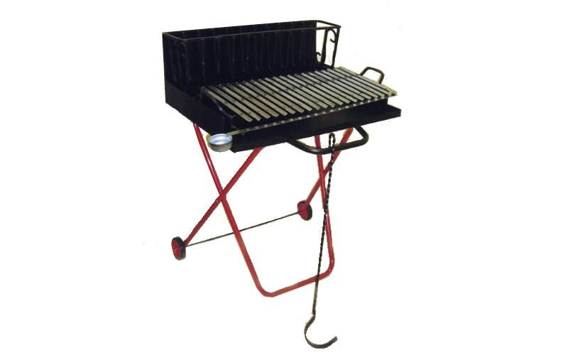 Barbecue Portatile Pieghevole.Barbecue Portatile Pieghevole A Carbonella