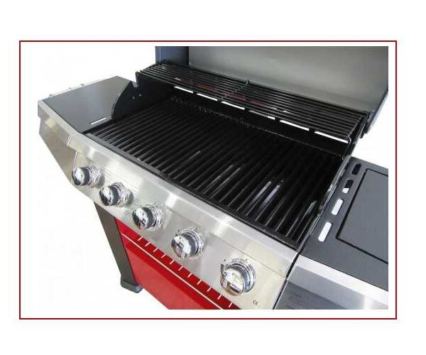 Barbecue a Gas Master Cook con 5 fornelli +1