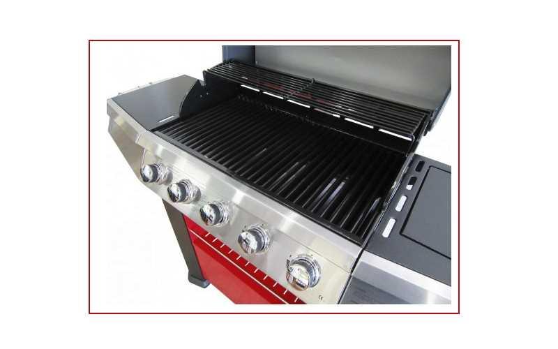 Barbecue a Gas Master Cook con 5 fornelli +1