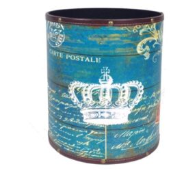 cesto-english-crown-blu-medium