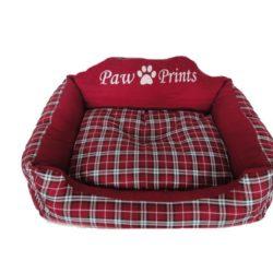 cuccia-cuscino-cane-scozzese-rossa-1