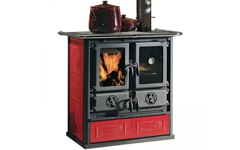 Cucina Nordica Rosetta Liberty Bordeaux 6 kW : Prezzi e Offerte