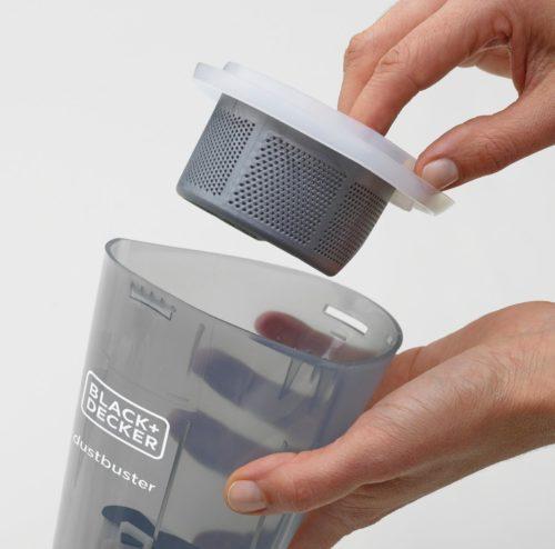 Pulizia filtro Dustbuster Black&Decker
