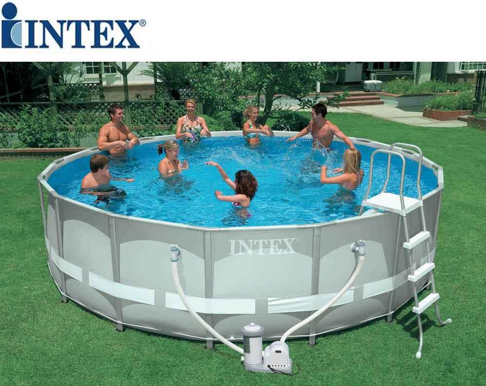 Piscina fuoriterra intex rotonda 54955 prezzi e offerte for Offerte piscine fuori terra