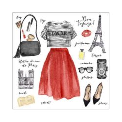 outfit-of-the-day-paris-canvas-stampa-tela