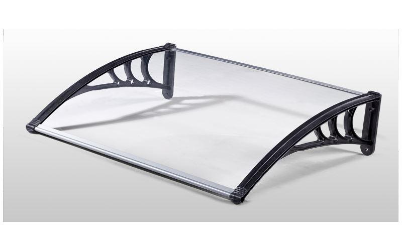 Pensilina 100×150 in policarbonato satinato trasparente : Prezzi e ...