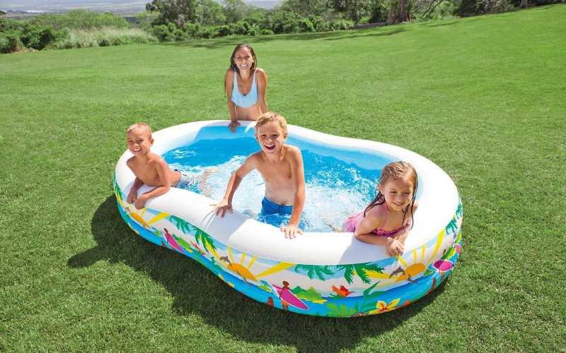 Piscina paradise intex cm262x160x46 prezzi e offerte for Offerte piscine intex