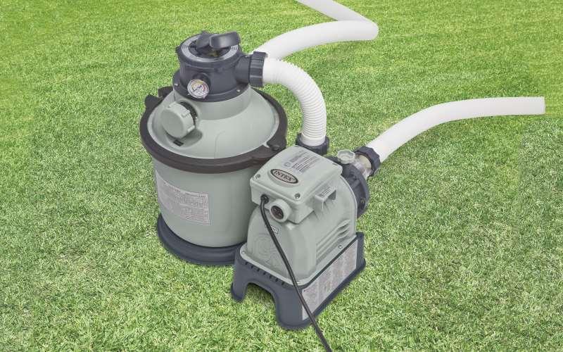 Pompa a sabbia intex cod 28644 prezzi e offerte for Piscine intex prezzi e offerte