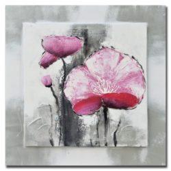 quadro-ad-olio-dipinto-mano-papaveri-60x60x3