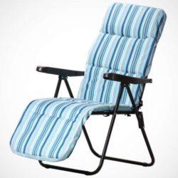 sdraio-pieghevole-reclinabile-poggiapiedi-cuscino-blue
