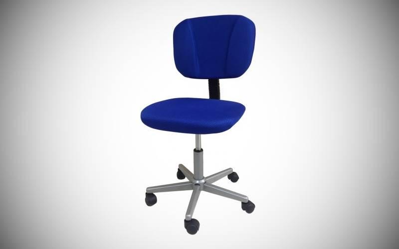 Sedie Ufficio Blu : Sedia da ufficio in tessuto colore blu prezzi e offerte