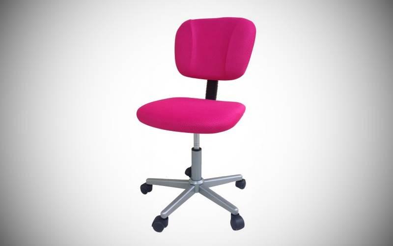sedia da ufficio in tessuto colore fucsia prezzi e offerte