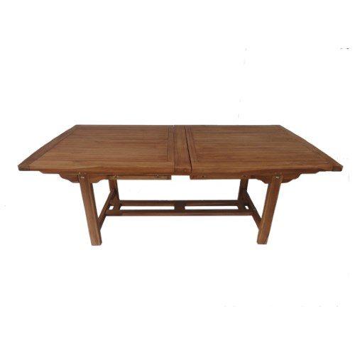 Il Gigante Tavoli Da Giardino.Set Rettangolare Teak Gigante Prezzi E Offerte