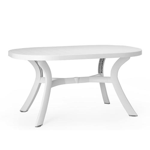 Tavolo Nardi, modello Toscana colore bianco