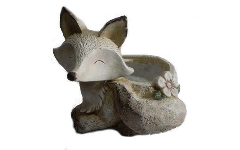 Decorazione Vasi Da Giardino : Vaso volpe da esterno in resina : prezzi e offerte