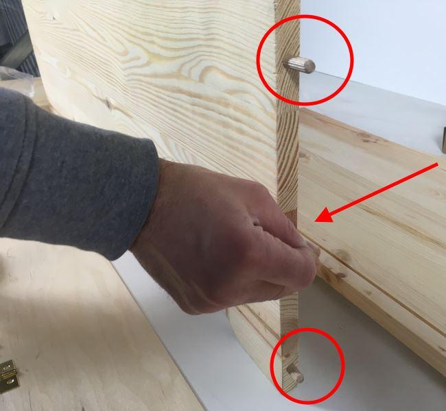 Costruire una cassapanca in legno tutorial pratico for Costruire una tettoia fai da te