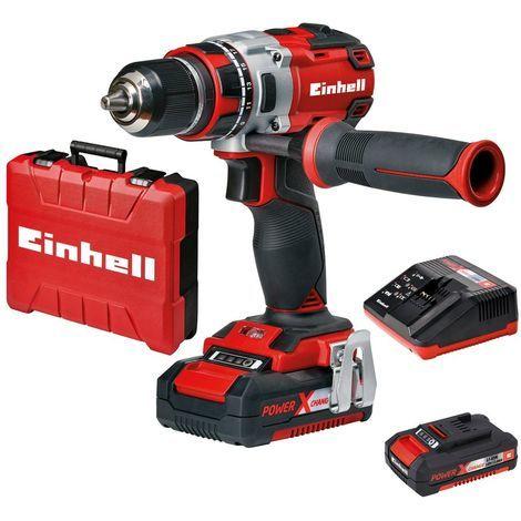 EINHELL TE-CD 18 LI Trapano avvitatore a batteria + luce LED