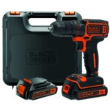 Trapano avvitatore Black & Decker BDCDC18KB-QW 2 batterie Litio 18V 1.5Ah