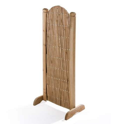 Griglato in legno richiudibile salvaspazio da chiuso
