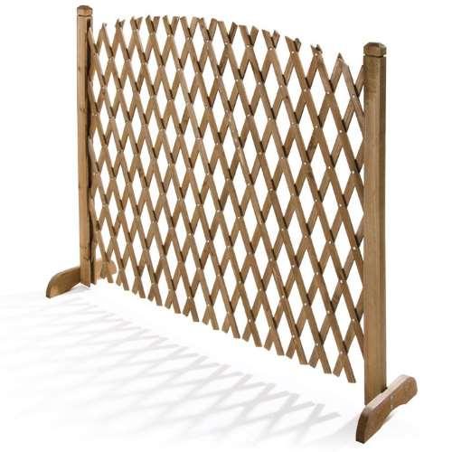 Grigliato in legno estensibile Flexy Biacchi 150x103cm