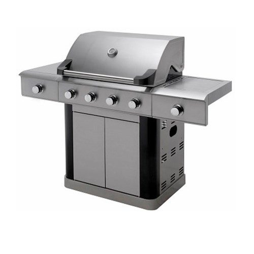 Barbecue a gas Master Cook 4+2 Fuochi Con Luci a Led