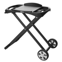 Carrello porta barbecue Qlima, ideale per i modelli da tavola della Qlima