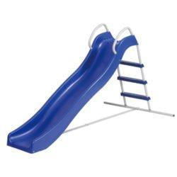 Scivolo in ferro e plastica da bambini colore blu