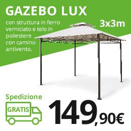 Banner gazebo lux 260x260