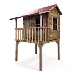 Foto della casetta palafitta in legno modello cottage