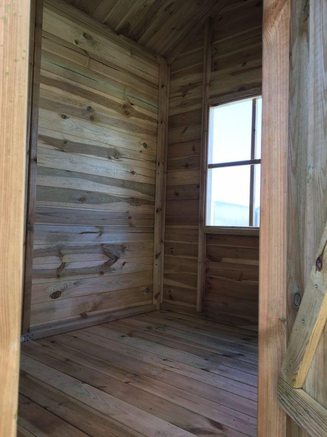 Foto che illustra gli interni della casetta cottage