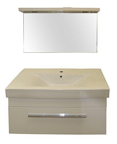 Bagno completo tutto in laminato bianco lucido prezzi e - Bagno completo offerte ...