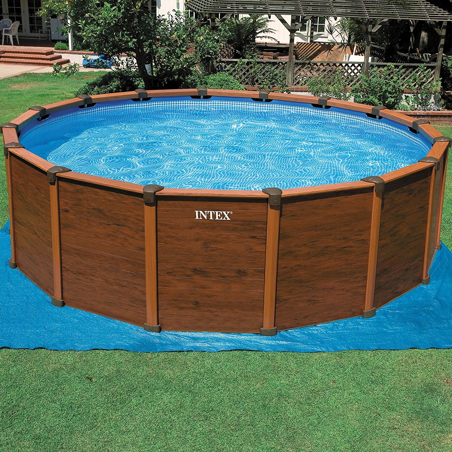 piscina fuori terra intex sequoia spirit rotonda 569x135