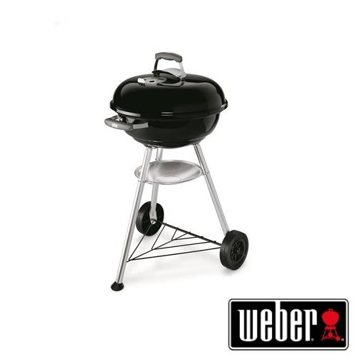 Barbecue Weber Compact Kettle 47cm Black a Carbonella : Prezzi e Offerte