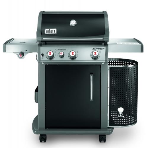 barbecue a gas weber spirit premium e 330 gbs black custodia gratis prezzi e offerte. Black Bedroom Furniture Sets. Home Design Ideas