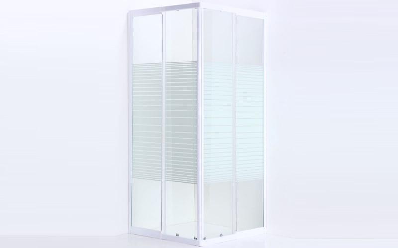 Box doccia in vetro trasparente medium prezzi e offerte - Box doccia in vetro prezzi ...