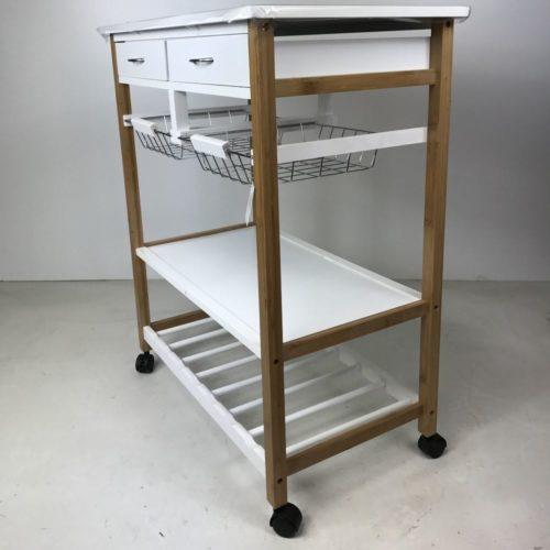 Carrello da Cucina 70X40X83