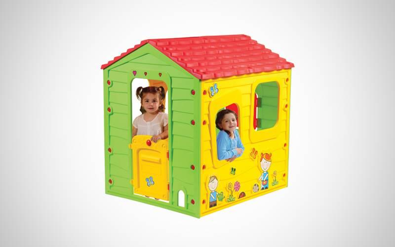 Casetta In Plastica Per Giardino.Casetta In Plastica Per Bambini Fun Farm Prezzi E Offerte